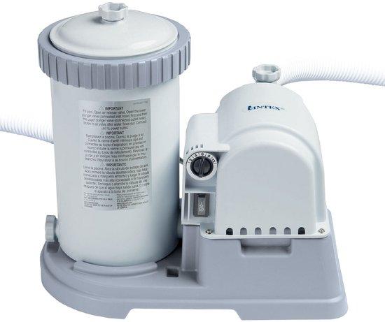 Intex zwembad filterpomp bovengronds 9463 liter per uur for Filterpomp zwembad intex